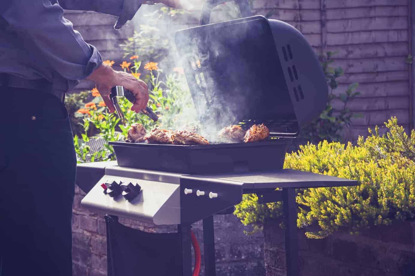Bbq On Gas Grill