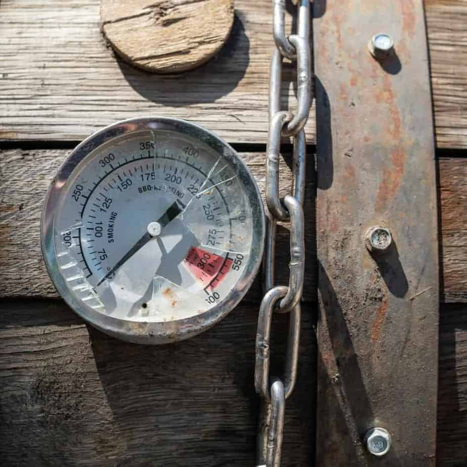 Broken Barbecue Thermometer